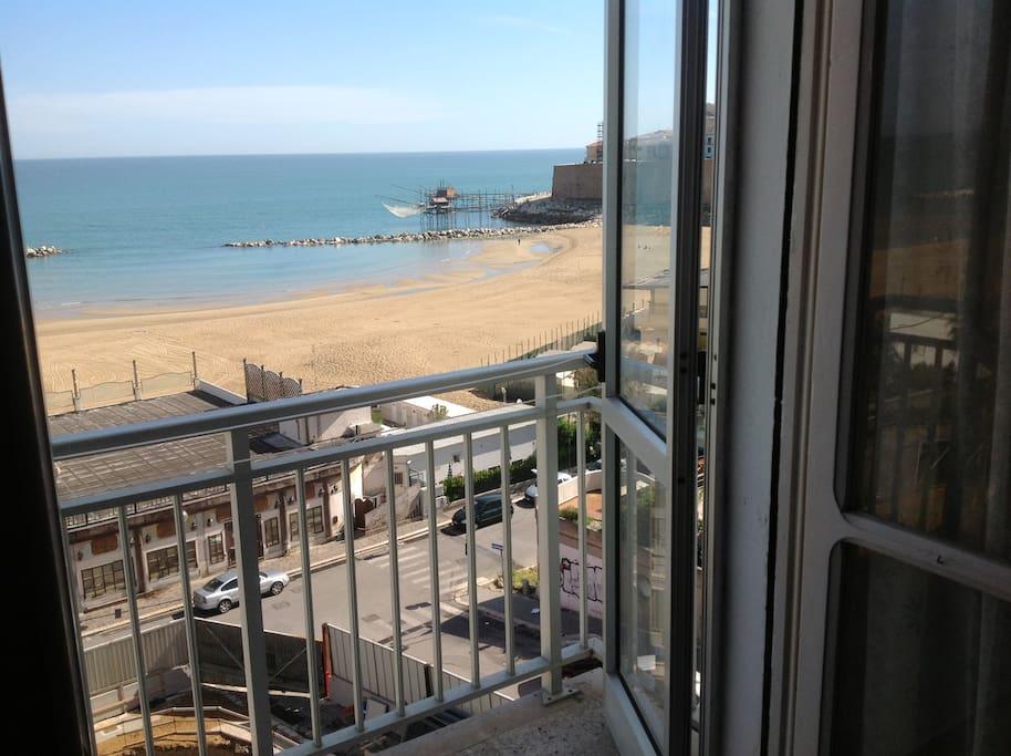Il balcone lato mare