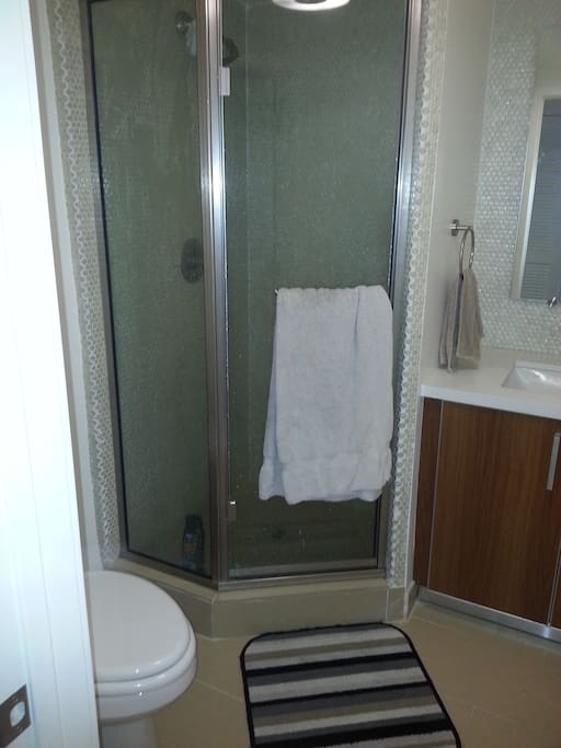 Unattached bathroom
