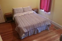 First of 3 fully furnished spare bedrooms