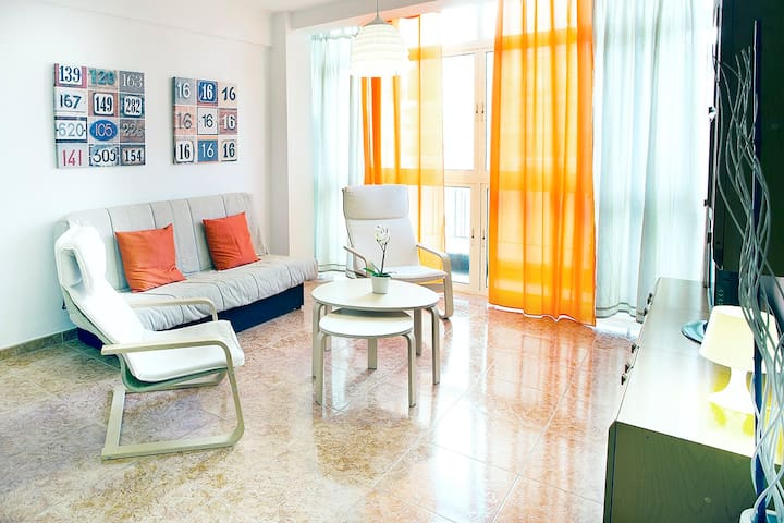 Cozy and bright Center of Malaga - Málaga - House