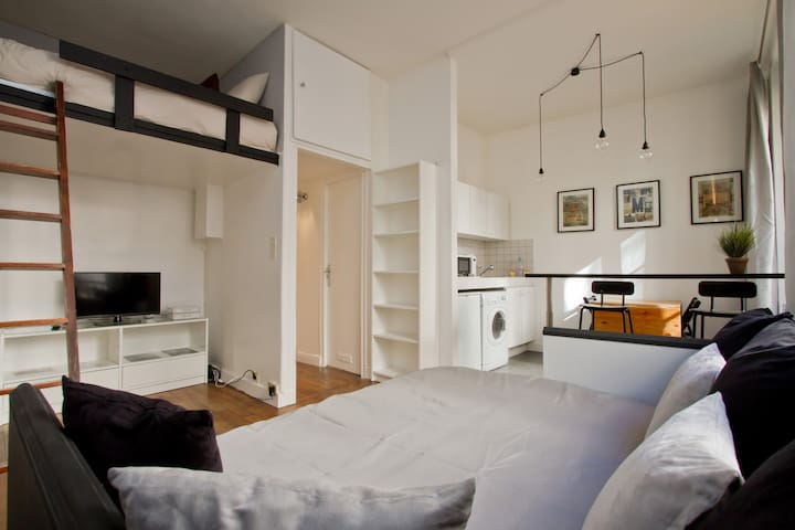 CENTRAL LOCATION // ATYPIC FLAT - Parijs - Appartement