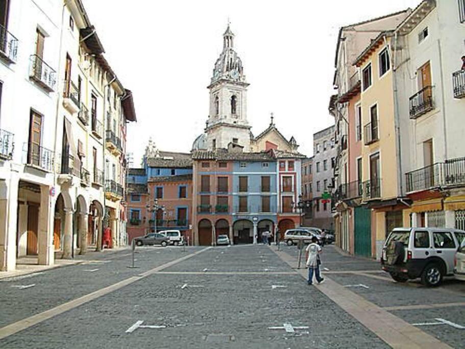 Famosa Plaza del Mercat