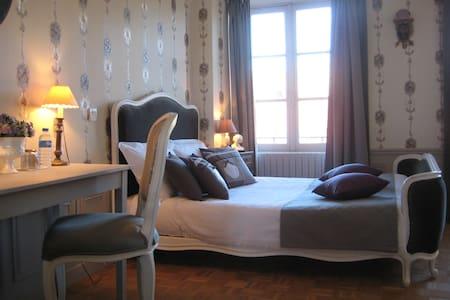 Hôtel de Guerpel - Chambre Grise - Exmes - Guesthouse