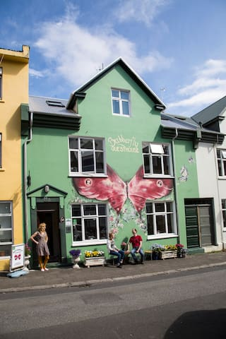 Butterfly - Single room with private bathroom - Reykjavik - Huoneisto
