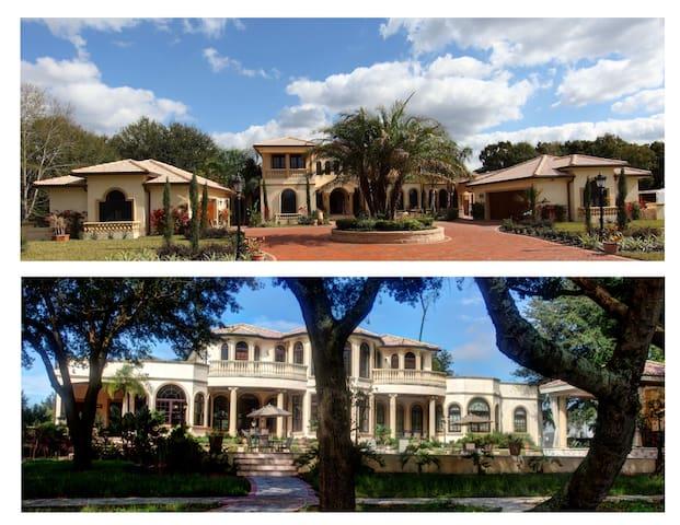 North Tampa Waterfront Luxury - Villa Adriana