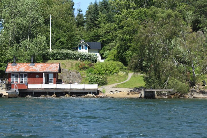 Seaside villa/cottage in the Stockholm archipelago