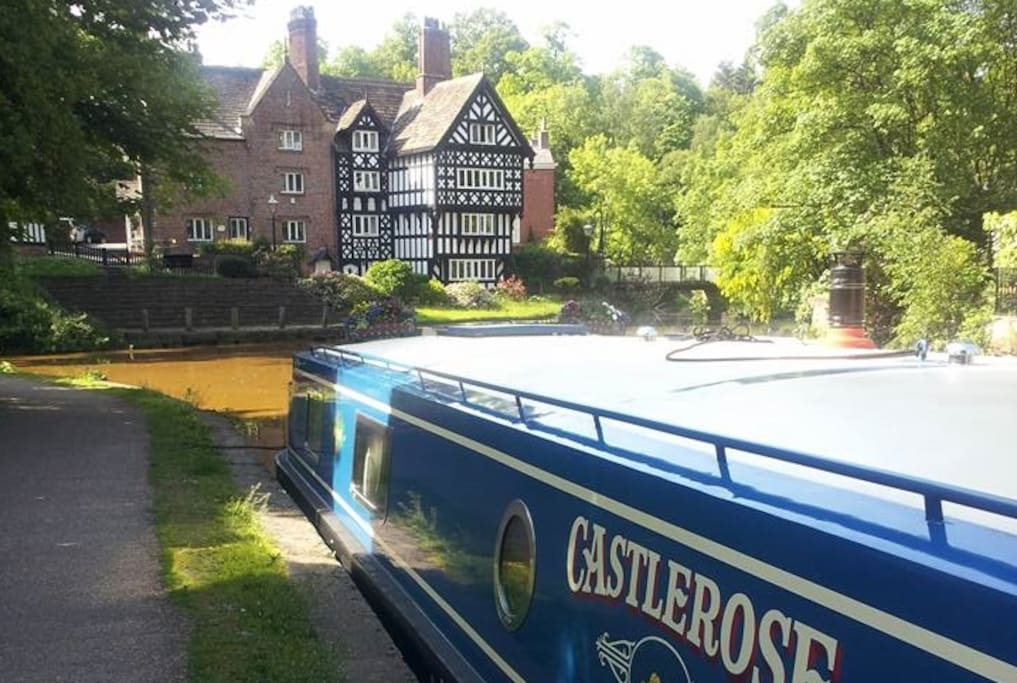 Worsley; birthplace of the English canals