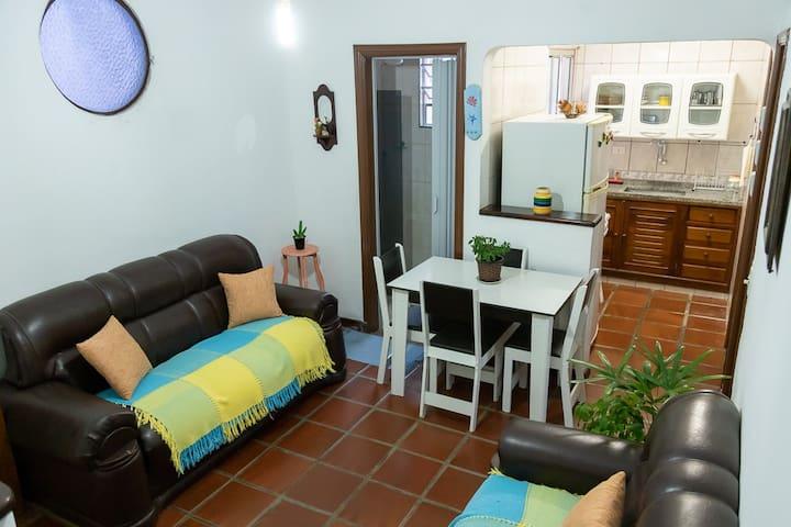Casa familiar no Centro de São Sebastião