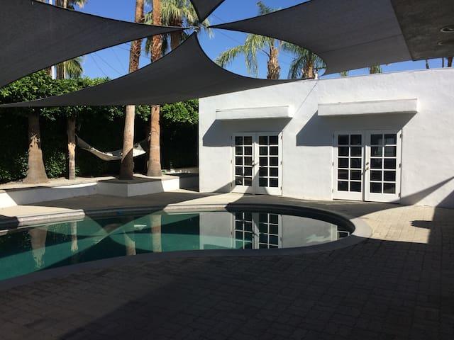 Enjoy gay Palm Springs life in my Deepwell Castle