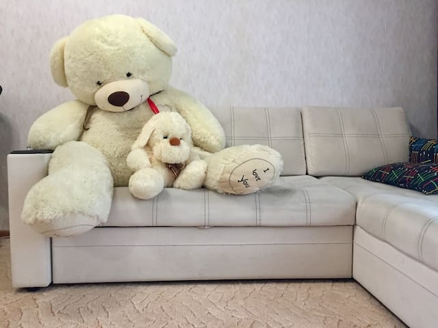 Квартира с Мишкой на Парнасе / Apartment with Bear