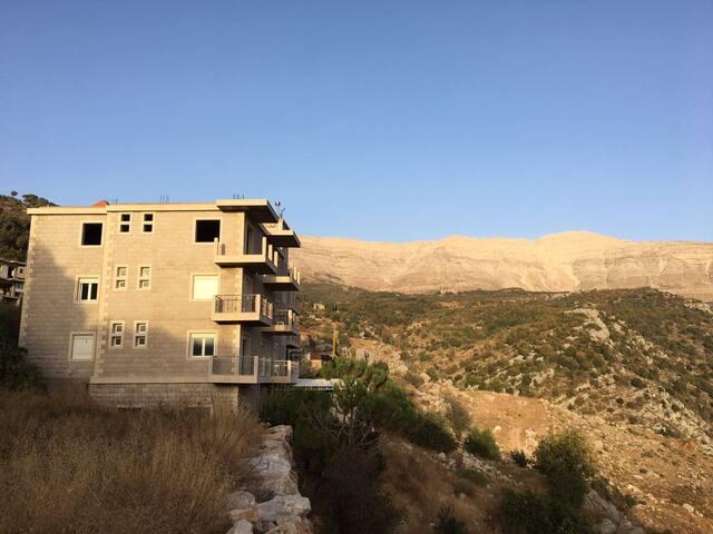 Vu sur le Mont Sannine, cadre famillial, spacieux - Baskinta - Apartment