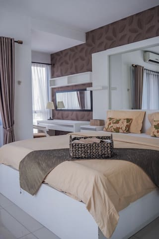 Your Private Two-Bedroom Sanctuary in Jakarta City