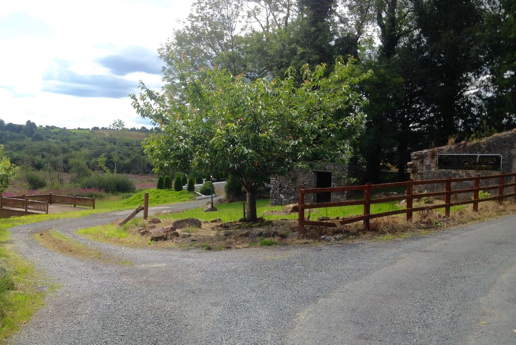 This is the entrance to Kilronan Woods B&B