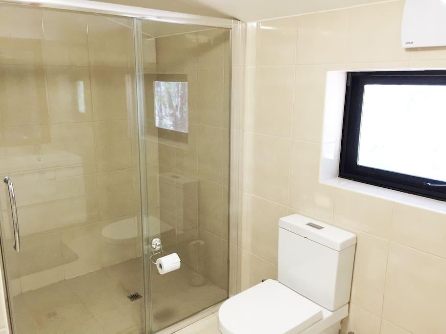 Large modern bathrooms