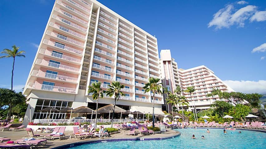Kaanapali Beach Resort April 7-14, 2017 - 卡亞納帕里(Kaanapali)