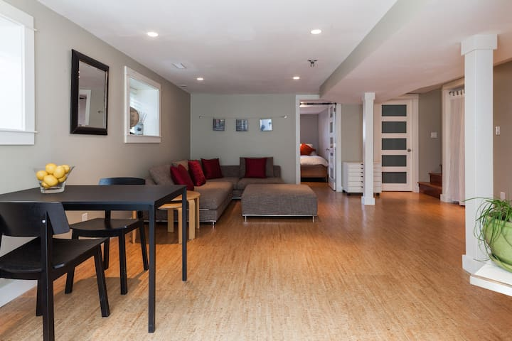 Large, Modern & Quiet Private Space - Vancouver - Dom