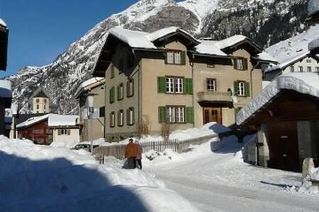 3.5 Zimmerwohnung im 1 Stock / Parterre - Vals - Daire
