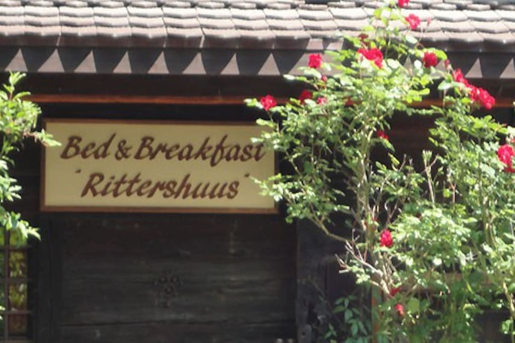 Bed & Breakfast Rittershuus. With a warm welcome!