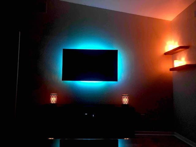 Living Room Night Time Ambience