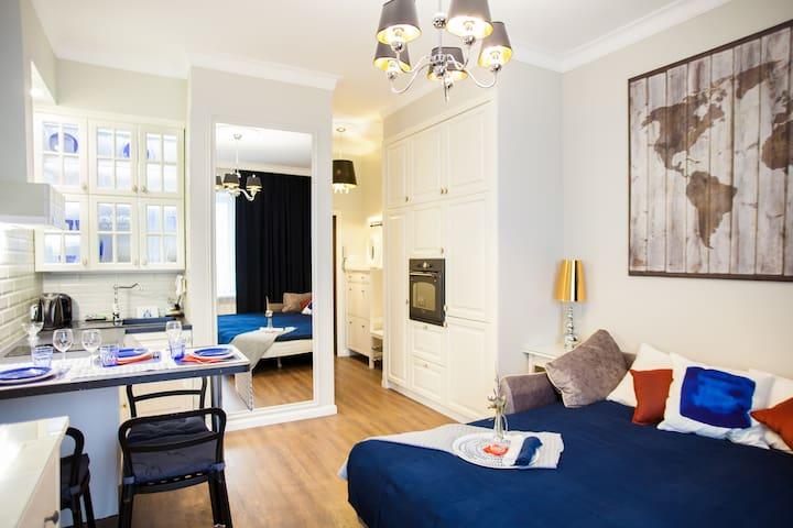Studio 154 –new flat near embankment/center/Island