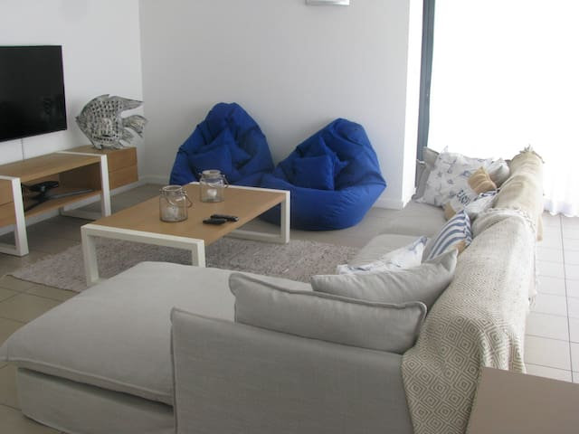 Penthouse / apartment in stunning sea side complex - Roches Noires - Apartamento