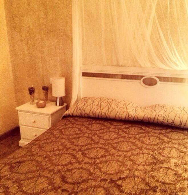 elegante camera matrimoniale