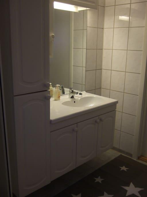 Bad med dusj og do