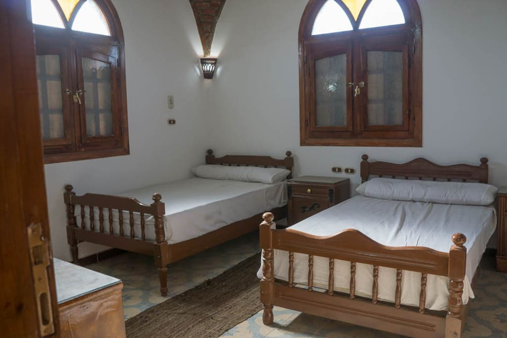 Luxor westbank villa houses for rent in luxor luxor for Luxor baths