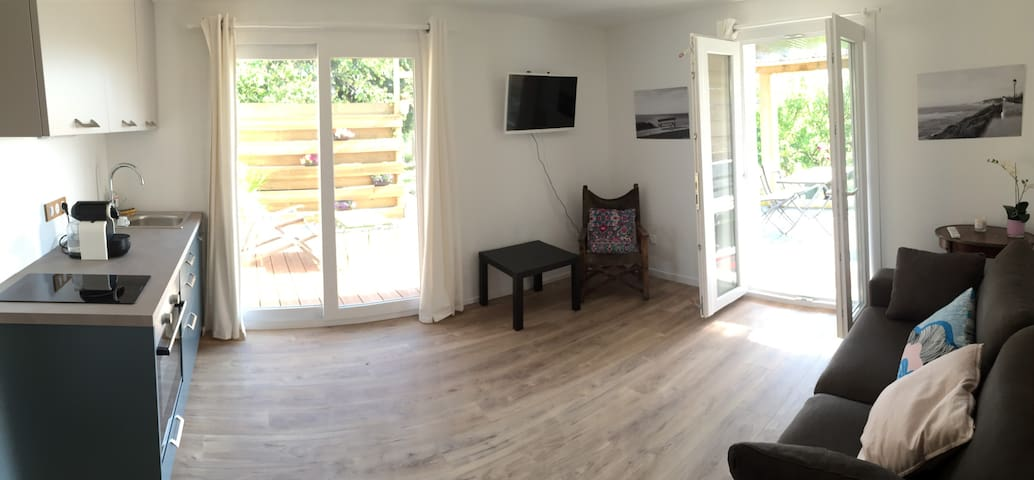 Petit 2 pièces dans maison basque Bidart - Bidart - Apartment