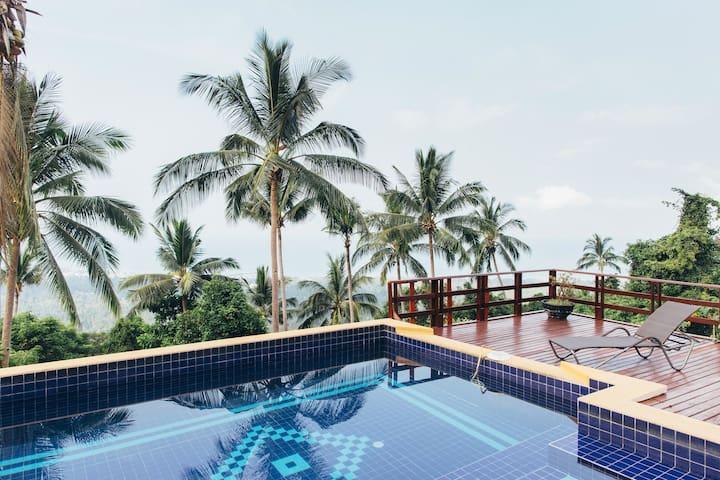 Ocean view bungalow - Ko Samui - House