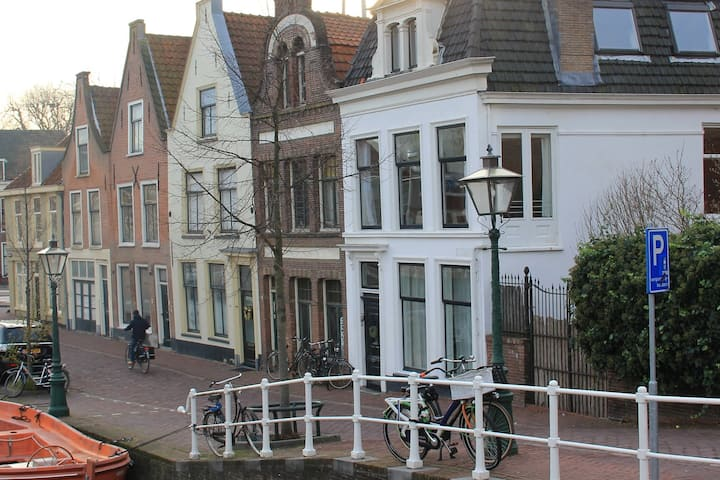 Charming apartment in the centre of Leiden.