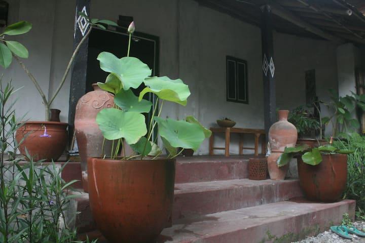 Traditional Java house Omah Gentong