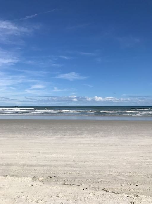 Located on the driving section of the beach and 100 yards from the no-drive section of NSB