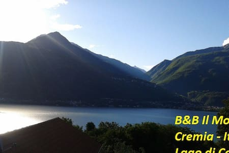 Terrace - Il Motto Cremia Como Lake - Cremia - Bed & Breakfast