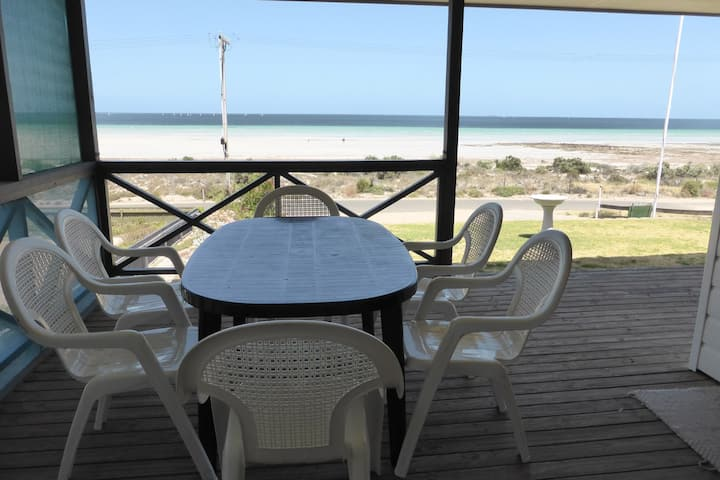 Seaside Front Row Holiday Home