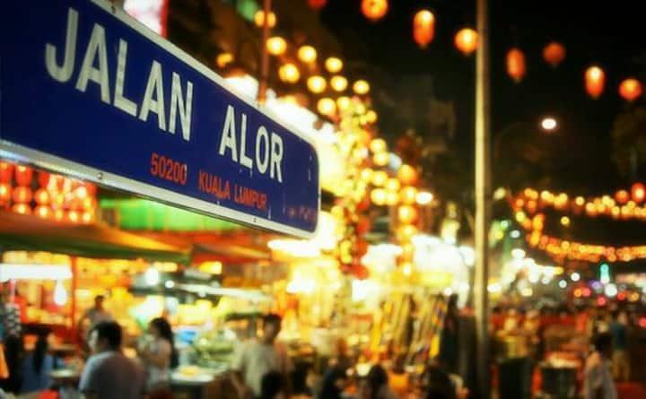 Rooms   500m fr Jalan Alor