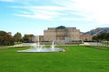 Parc Borely (nouveau musée, ballades, location de vélo, tandem, voiturettes à pédales)
