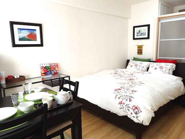 SHINJUKU 5min★Lovely & Comfy bed!!! - Toshima - Lejlighed