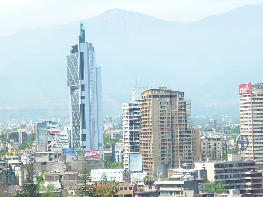 vista panorámica desde la terraza de el edificio