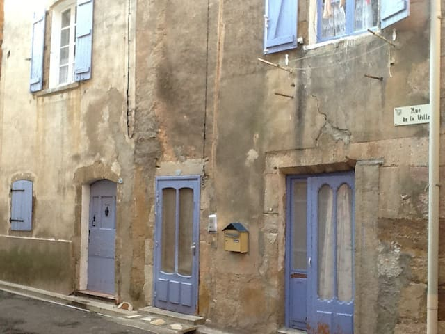 Stone-built medieval town house in Languedoc - Saint-Chinian - Apartment