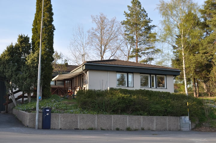 Family friendly home  in picturesque Norrtälje.