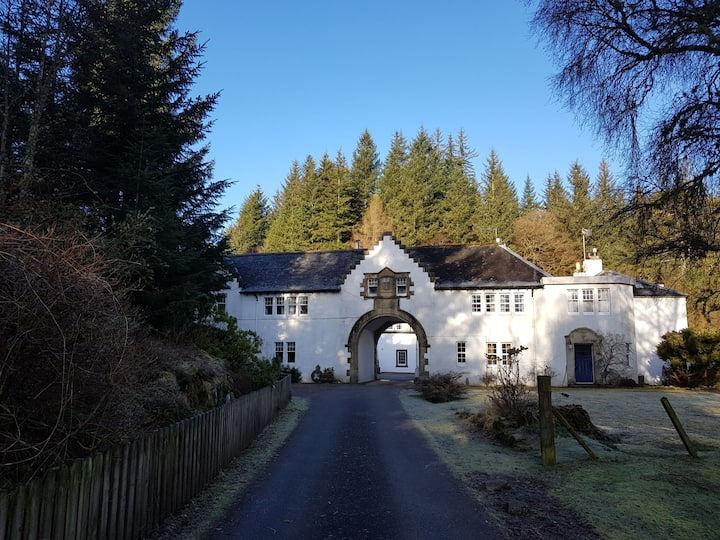 Beautiful modernised estate workers accommodation.