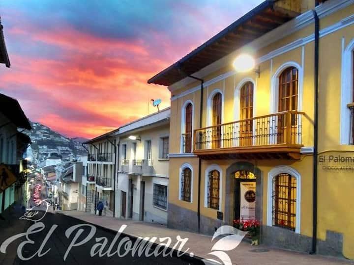 El mejor lugar en el Centro Histórico de Quito.