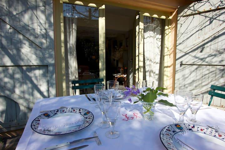 Maison de village avec jardin - Maillane - Casa
