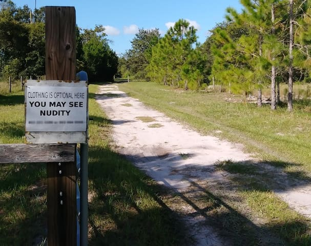 Clothing Optional campsite in Central Florida #1