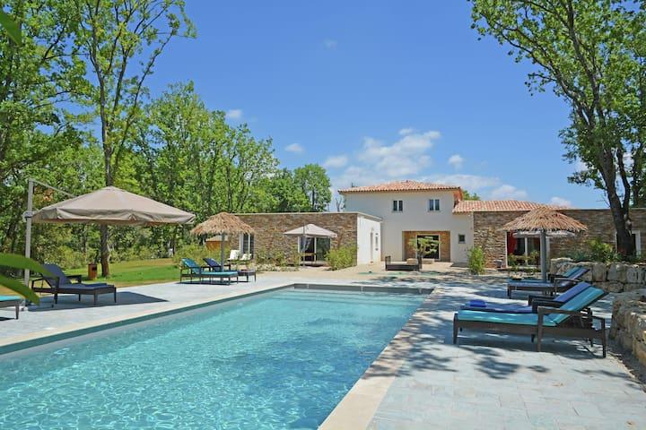 Modern Villa near Forest in Montauroux