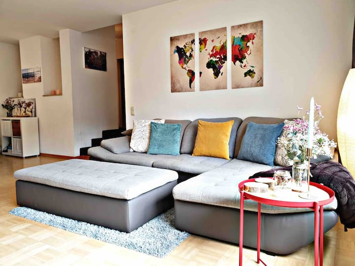 DG- Wohnung/Sonnenterrasse/AC-City