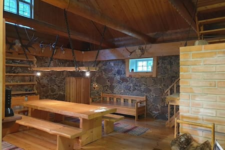 Amazing country house with sauna