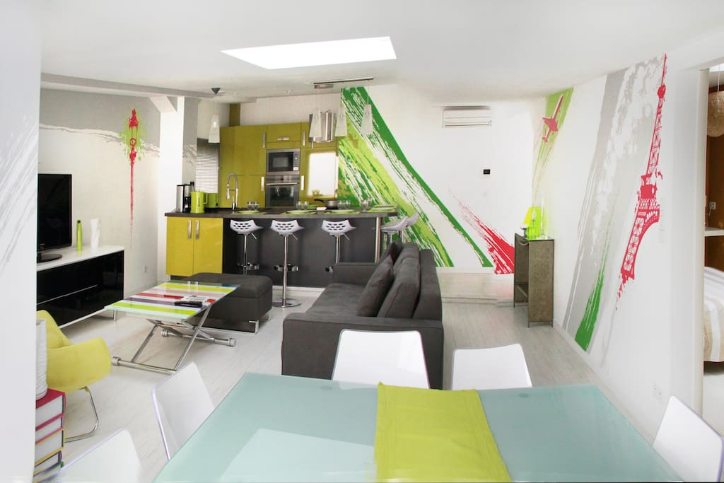 Appart design a 5mns de paris apartments for rent in for Appart maison alfort