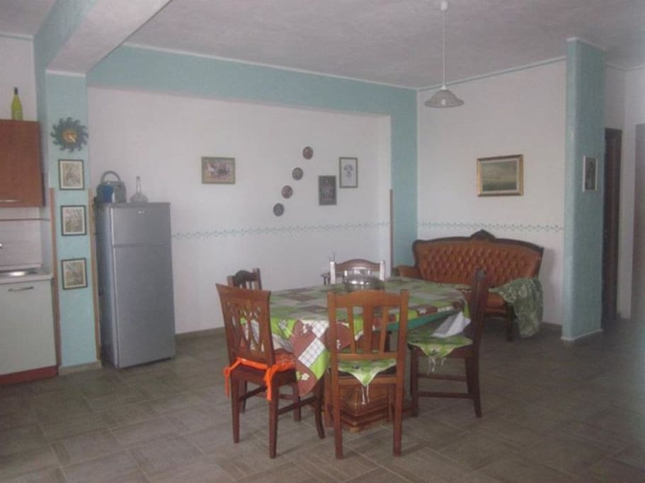 Cucina-soggiorno
